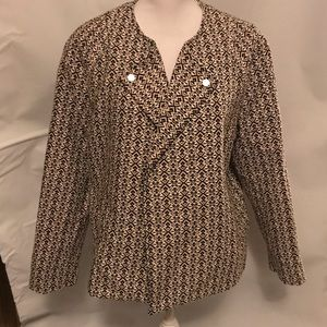 1x Tart Collections tribal print blazer jacket